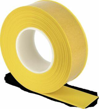 Bodenmarkierungsband WT-500 mit abgeschrägten Kanten, PVC, Gelb, 5x1000 cm
