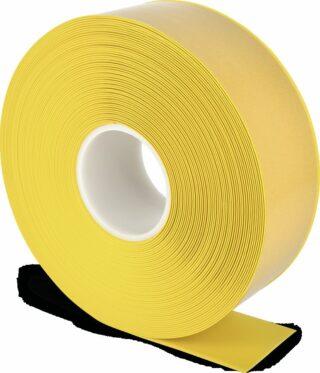 Bodenmarkierungsband WT-500 mit abgeschrägten Kanten, PVC, Gelb, 7,5x2500 cm