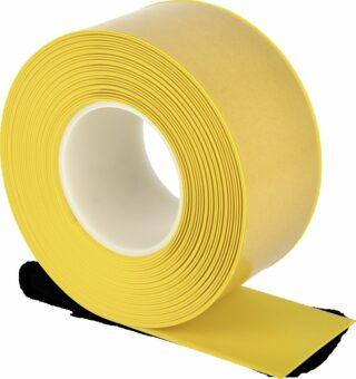 Bodenmarkierungsband WT-500 mit abgeschrägten Kanten, PVC, Gelb, 7,5x1000 cm