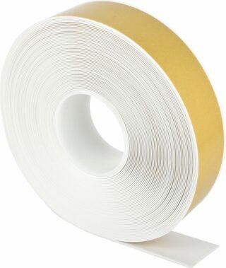 Bodenmarkierungsband WT-500 mit abgeschrägten Kanten, PVC, Weiß, 5x2500 cm