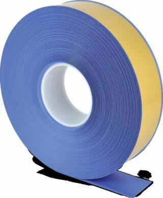 Bodenmarkierungsband WT-500 mit abgeschrägten Kanten, PVC, Blau, 5x2500 cm