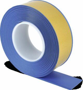 Bodenmarkierungsband WT-500 mit abgeschrägten Kanten, PVC, Blau, 5x1000 cm