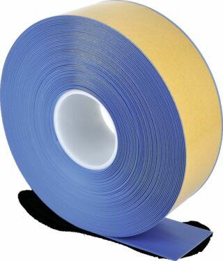 Bodenmarkierungsband WT-500 mit abgeschrägten Kanten, PVC, Blau, 7,5x2500 cm