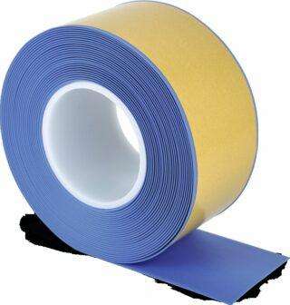 Bodenmarkierungsband WT-500 mit abgeschrägten Kanten, PVC, Blau, 7,5x1000 cm