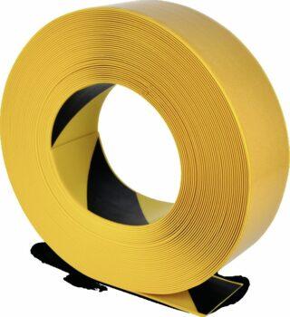 Bodenmarkierungsband WT-500 mit abgeschrägten Kanten, PVC, g/s, 7,5x2500 cm