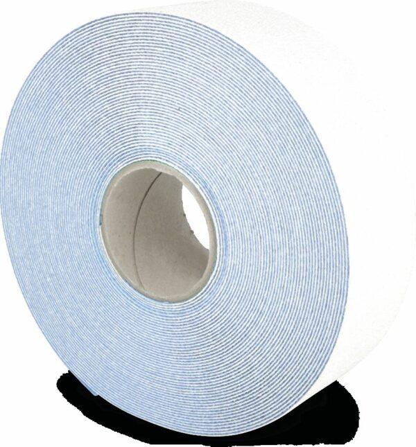 Bodenmarkierungsband WT-5845, PU, Rutschhemmung R11, Weiß, 7,5x2500 cm