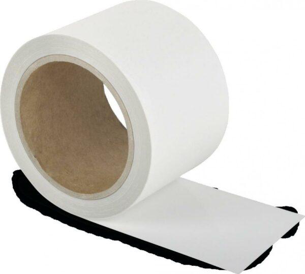 Schmutzresistentes Bodenmarkierungsband WT-5229, Polyester, Weiß, 7,5x1500 cm