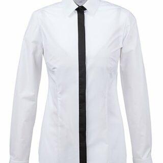 Moderne Damen-Bluse S/W RF 6525