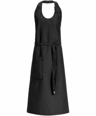 Schwarze Sommelier-Schürze 77x100 - 4409