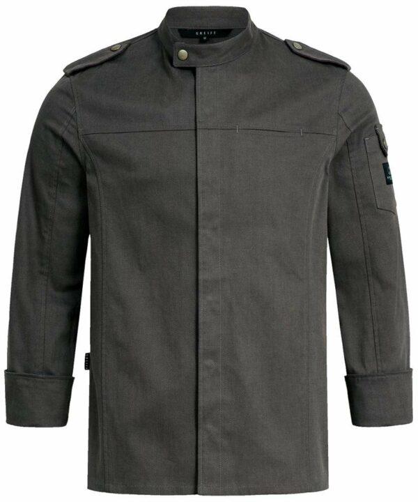Herren-Kochjacke im Militarystyle / Regular Fit - 5583
